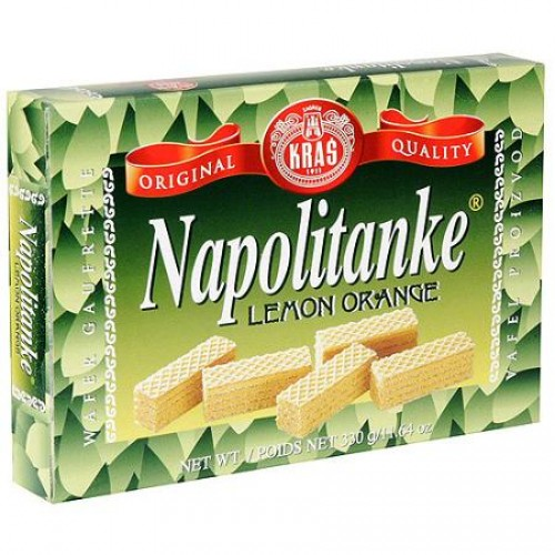 Napolitanki Waffer Kras Lemon Orange 330gr 1 12 SKU2621