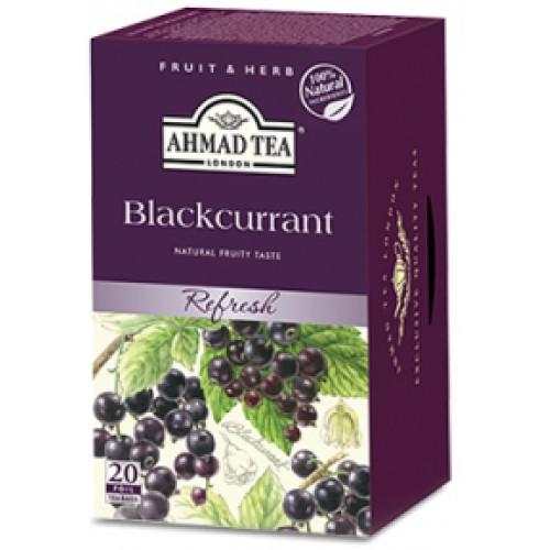 Ahmad Fruit Tea Blackcurrant 20 bags 1 6 SKU2664